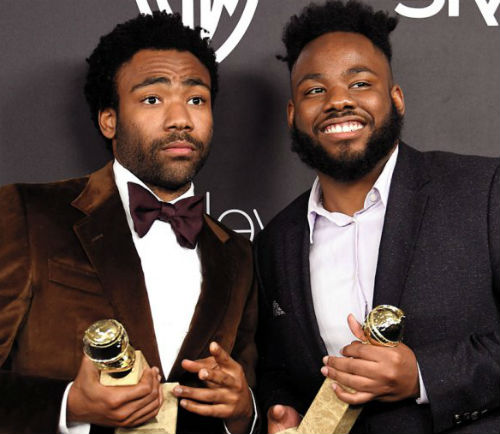 Donald Glover & brother Stephen Glover