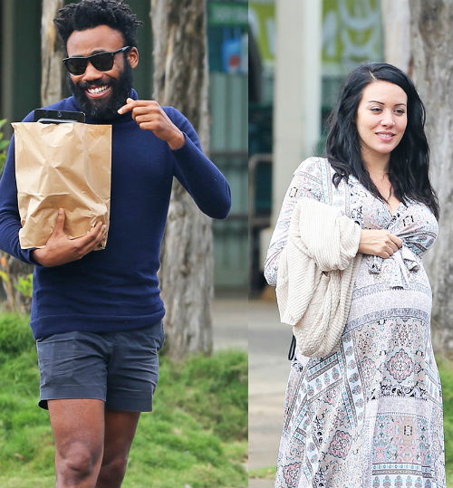 Donald Glover & Girlfriend Michelle