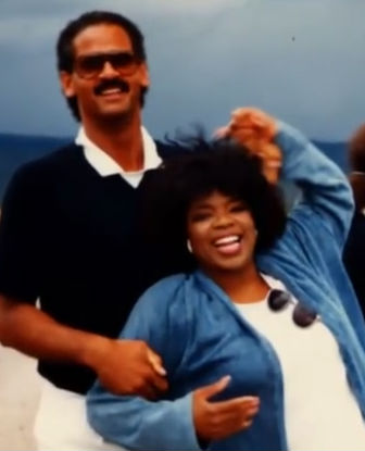 Oprah Winfrey with Boyfriend Stedman Graham