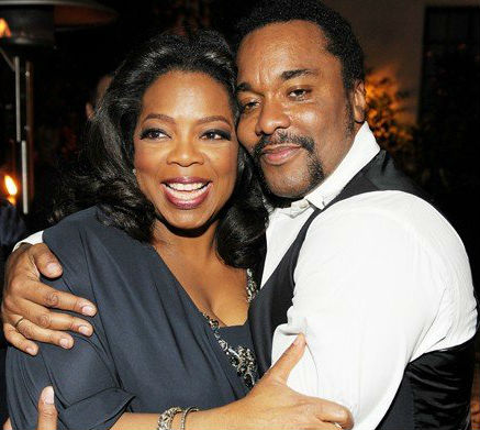 Oprah Winfrey with her brother Jeffrey Lee